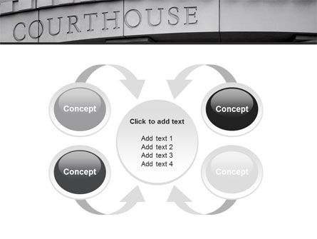 Courthouse PowerPoint Template Slide 6