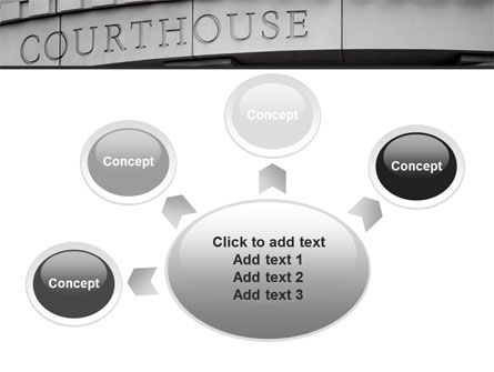 Courthouse PowerPoint Template Slide 7
