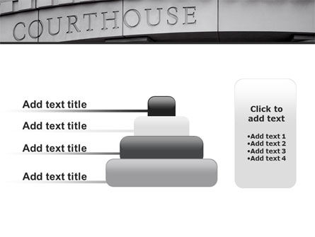 Courthouse PowerPoint Template Slide 8