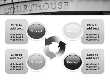 Courthouse PowerPoint Template Slide 9