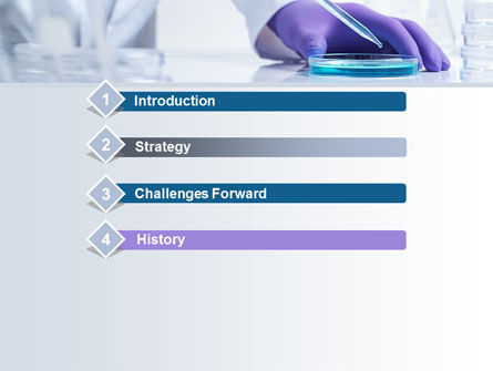 Bio Experiment PowerPoint Template, Slide 3, 10188, Technology and Science — PoweredTemplate.com