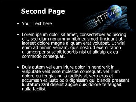 URL PowerPoint Template, Slide 2, 10192, Technology and Science — PoweredTemplate.com