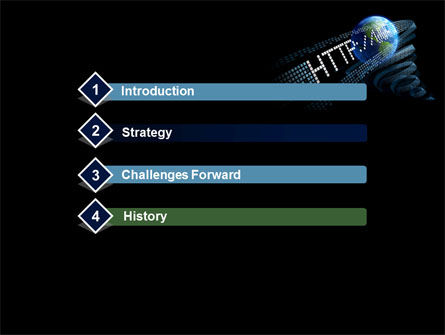 URL PowerPoint Template, Slide 3, 10192, Technology and Science — PoweredTemplate.com