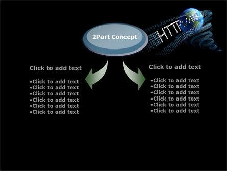 URL PowerPoint Template, Slide 4, 10192, Technology and Science — PoweredTemplate.com