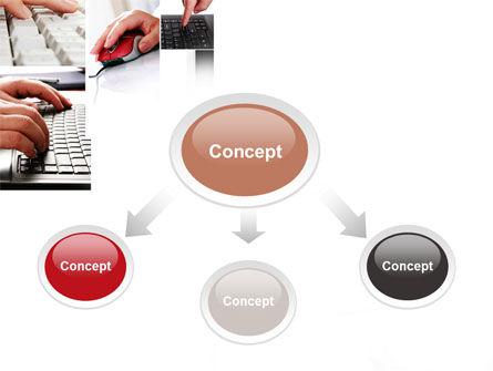 IO Device PowerPoint Template, Slide 4, 10193, Computers — PoweredTemplate.com