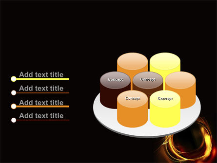 Circle of Fire PowerPoint Template Slide 12