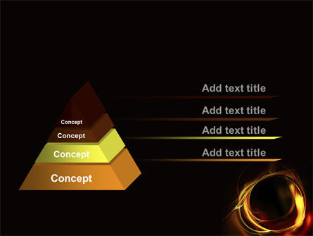 Circle of Fire PowerPoint Template Slide 4