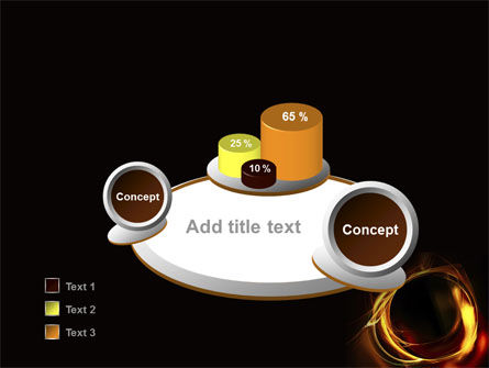 Circle of Fire PowerPoint Template Slide 6
