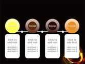 Circle of Fire PowerPoint Template#5