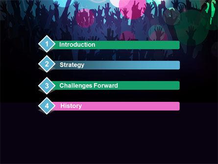 Fan Zone PowerPoint Template, Slide 3, 10197, Careers/Industry — PoweredTemplate.com