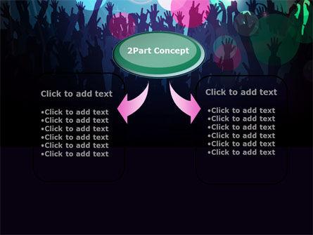 Fan Zone PowerPoint Template, Slide 4, 10197, Careers/Industry — PoweredTemplate.com