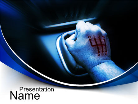 Addicted to Speed PowerPoint Template