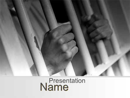 Legal: Custody PowerPoint Template #10201