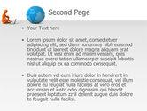 World at Fingertips PowerPoint Template#2