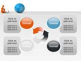 World at Fingertips PowerPoint Template#9
