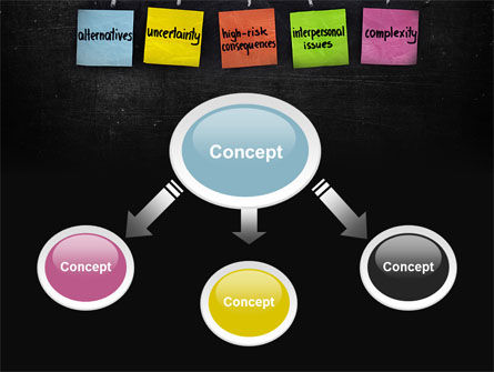 Decision-Making Process PowerPoint Template, Slide 4, 10203, Business Concepts — PoweredTemplate.com