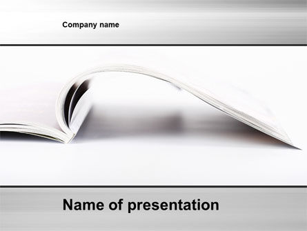 Business Concepts: New Page PowerPoint Template #10205