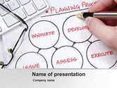 Business Concepts: Planningsproces PowerPoint Template #10206