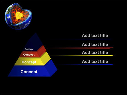 Core of the Earth PowerPoint Template, Slide 4, 10208, Education & Training — PoweredTemplate.com