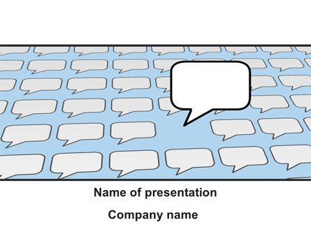 Business Concepts: Dissent PowerPoint Template #10209