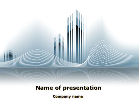 Floating City PowerPoint Template