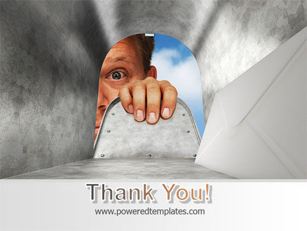 Unexpected Mail PowerPoint Template Slide 20