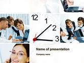 People: Funky Business PowerPoint Template #10216