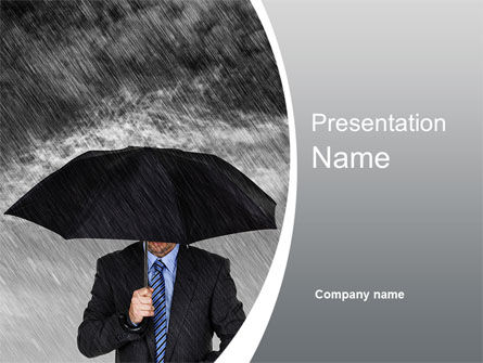 Protection PowerPoint Template, 10217, Business Concepts — PoweredTemplate.com