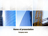 Construction: Modello PowerPoint - Business building #10218