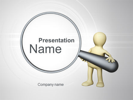 Business Concepts: Zoeken PowerPoint Template #10220