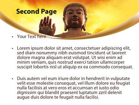 Buddha PowerPoint Template, Slide 2, 10221, Religious/Spiritual — PoweredTemplate.com