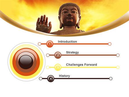 Buddha PowerPoint Template, Slide 3, 10221, Religious/Spiritual — PoweredTemplate.com