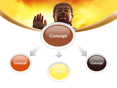 Buddha PowerPoint Template, Slide 4, 10221, Religious/Spiritual — PoweredTemplate.com