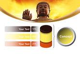 Buddha PowerPoint Template#11