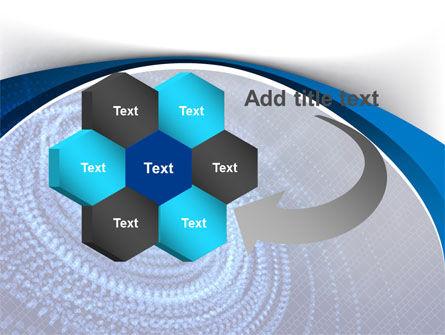 Digital Whirlpool PowerPoint Template Slide 11