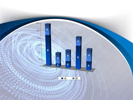 Digital Whirlpool PowerPoint Template Slide 17