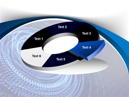 Digital Whirlpool PowerPoint Template Slide 19