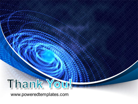 Digital Whirlpool PowerPoint Template Slide 20