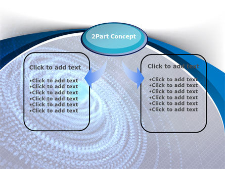Digital Whirlpool PowerPoint Template Slide 4
