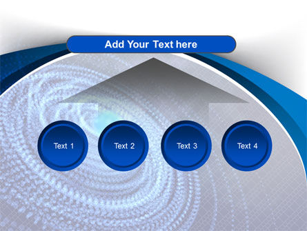 Digital Whirlpool PowerPoint Template Slide 8