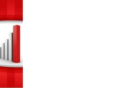 Column Chart PowerPoint Template, Slide 3, 10225, Business Concepts — PoweredTemplate.com