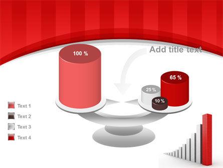 Column Chart PowerPoint Template Slide 10