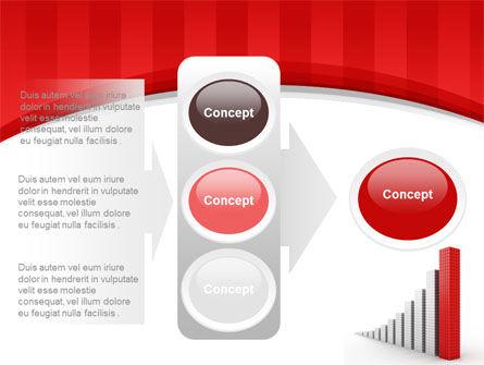 Column Chart PowerPoint Template Slide 11