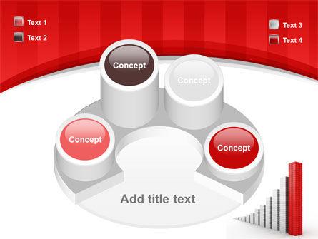 Column Chart PowerPoint Template Slide 12