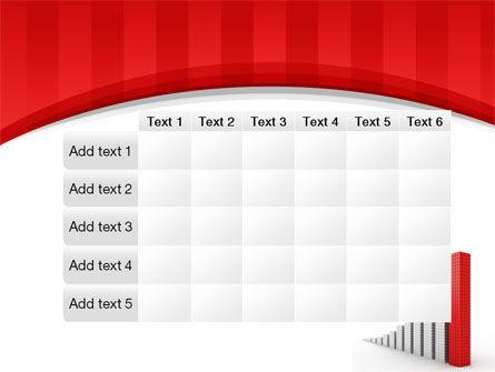 Column Chart PowerPoint Template Slide 15