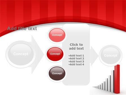 Column Chart PowerPoint Template Slide 17