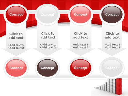 Column Chart PowerPoint Template Slide 18