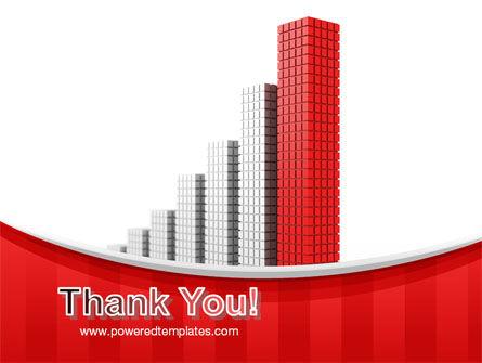 Column Chart PowerPoint Template Slide 20