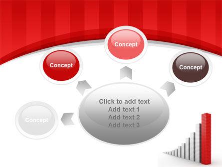 Column Chart PowerPoint Template Slide 7