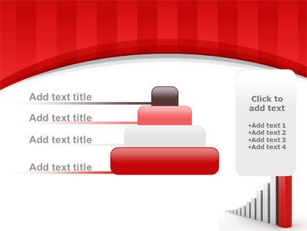 Column Chart PowerPoint Template Slide 8